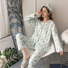 2 шт./компл. Мода Одежда для беременных в полоску для беременных Пижама для кормящих, одежда для сна, Пижама для кормления грудью для беременных Для женщин