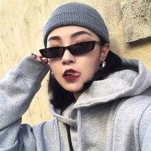 1 ud. De gafas de sol rectangulares clásicas para mujer, gafas de sol con montura pequeña de diseñador de marca, gafas negras Retro Para conductor, gafas de sol