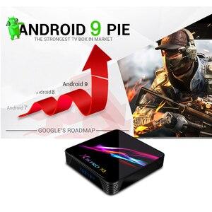 Image 3 - TV Box X88 Pro X3 ، Android 9.0 ، وحدة فك ترميز الإشارة مع Amlogic S905X3 ، رباعي النواة ، واي فاي مزدوج ، BT ، Lan 1000M ، 1080P ، HD ، متوافق مع مشغل الوسائط ثلاثي الأبعاد