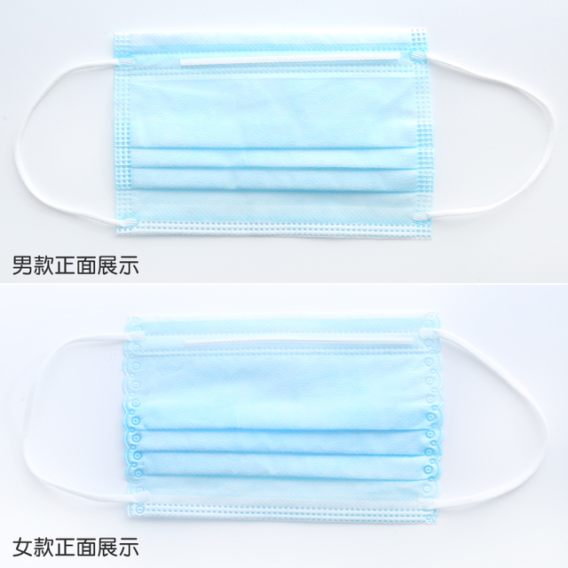 10pcs Children Face Masks 3 Layer Elastic Mouth Mask Anti-Flu Kids Disposable Mask Soft Breathable PM2.5 Nonwoven Waterproof 2