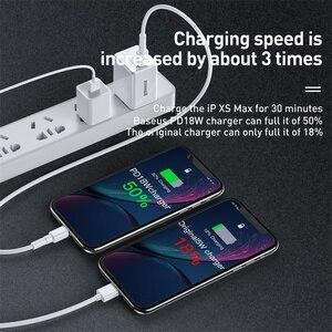 "Image 5 - Baseus ארה""ב תקע USB מטען 18W סוג C פ""ד מהיר מטען נייד מתאם נסיעות מטען קיר טעינה מהירה עבור סמסונג עבור Huawei"