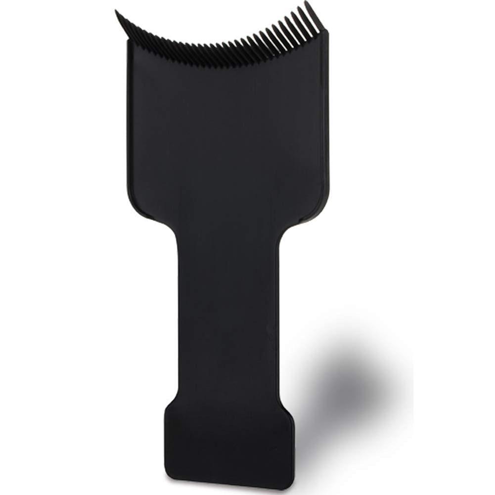 Купить с кэшбэком 3size Professional Flat Top Hair Dyeing Board Paddle Board Comb Hair Highlighting Board Hair Colour Board Hair Accessories