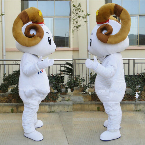 Sheep Mascot Costume Suits Cosplay Party Game Dress Outfits Clothing Advertising Promotion Carnival Halloween Easter Adults