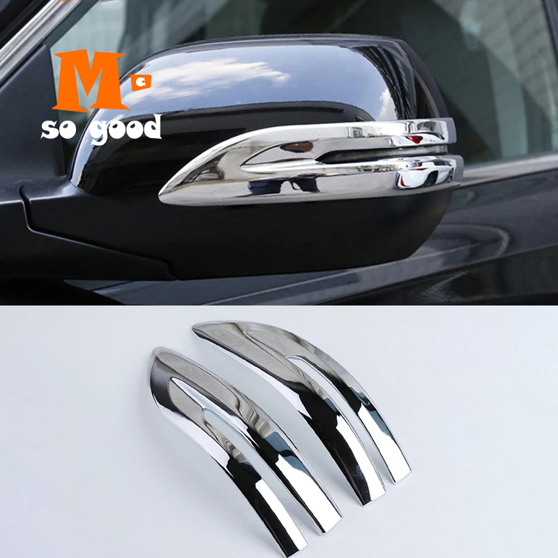Car Side Door Rearview Turning Mirror Stripe Sticker Cover ABS Chrome for Honda CRV CR-V 2012 2013 2014 2015 2016