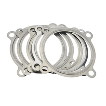 Flange-Gasket Exhaust-Downpipe GTX30 GT35 for Gt30/Gt35/Gtx35 4-Bolt 304-Turbo 5PCS SS