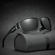 Gafas de sol para homem, lentes de sol masculinas para conducir, de seguridad, de marca de lujo, de disenador, 2020
