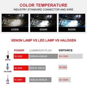 Image 3 - Racbox 12 v ac 55 ワットのエラーフリー canbus または高速高輝度高速スタート hid キセノンキット H1 H3 H7 h8 H9 H11 9005 9006 canbus hid バラスト