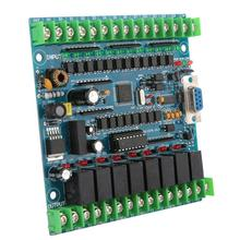 Industrial Programmable Control Board FX2N-20MR PLC 12 Input 8 Output 24V 5A Programmable Logic Controller industrial programmable control board fx2n 20mr plc 12 input 8 output 24v 5a programmable logic controller
