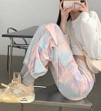 Корейские осенние новые повседневные брюки карго в стиле Харадзюку