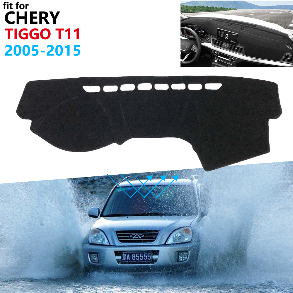 Dashboard Cover Protective Pad For Chery Tiggo T11 2005~2015 Facelift Car Accessories Sunshade Anti-UV Carpet 2012 2013 2014