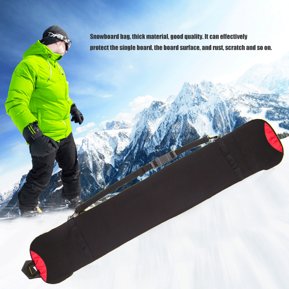 Storage Snowboard Bag Outdoor Travel Skiing Dumpling Sports Scratch Resistant Easy Carry Monoboard Protective Case Plate Winter