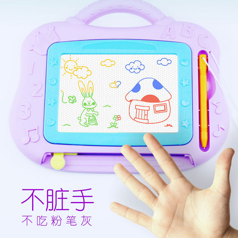 CHILDREN'S Drawing Board WordPad Doodle Board Children Color Magnetic Small Drawing Board Doodle Board Magnetic Writing Board Sm