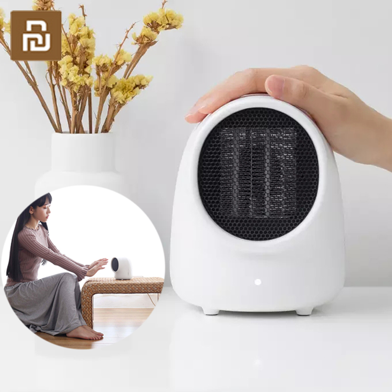 Sothing Portable Electric Heater With Dual Overheat Protection Two-second Speed Heating Fan Silent PTC Ceramic Heating