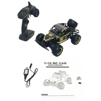 9303E RC Car 1/18 4WD 2.4G 40KM/H High Speed RC Car Remote Control Truck Toys Desert Crawler Car Vehicle Red