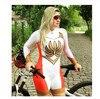 Xama ciclismo ciclismo skinsuit das mulheres manga longa bicicleta wear macacão conjunto roadbike mtb roupas ir pro tri sui 16