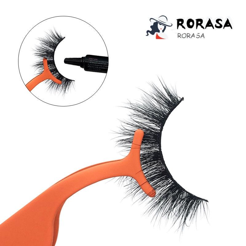 1pc Eyelash Tweezers Professional Beauty Makeup Tweezers Colorful Eye Lash Make Up Accessories Tools Kit Makeup Professional