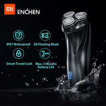 Xiaomi Afeitadora eléctrica 3D con Triple hoja flotante, maquinilla de afeitar para hombres, cortadora de barba Facial, máquina USB