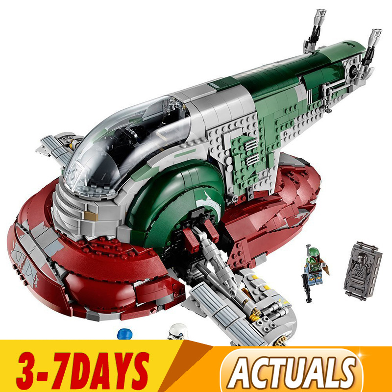 UCS Slave I Slave NO.1 Building Block Bricks 05037 Star Wars Toys Kits Compatible 81039 05037 75060 Children Gifts