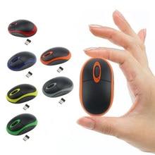 Mini souris optique sans fil 2.4G, ordinateur de bureau souris dordinateur portable