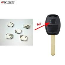 5Pcs/Lot Car Key Shell Square Emblem Symbol Sticker Logo For Honda Remote Keys