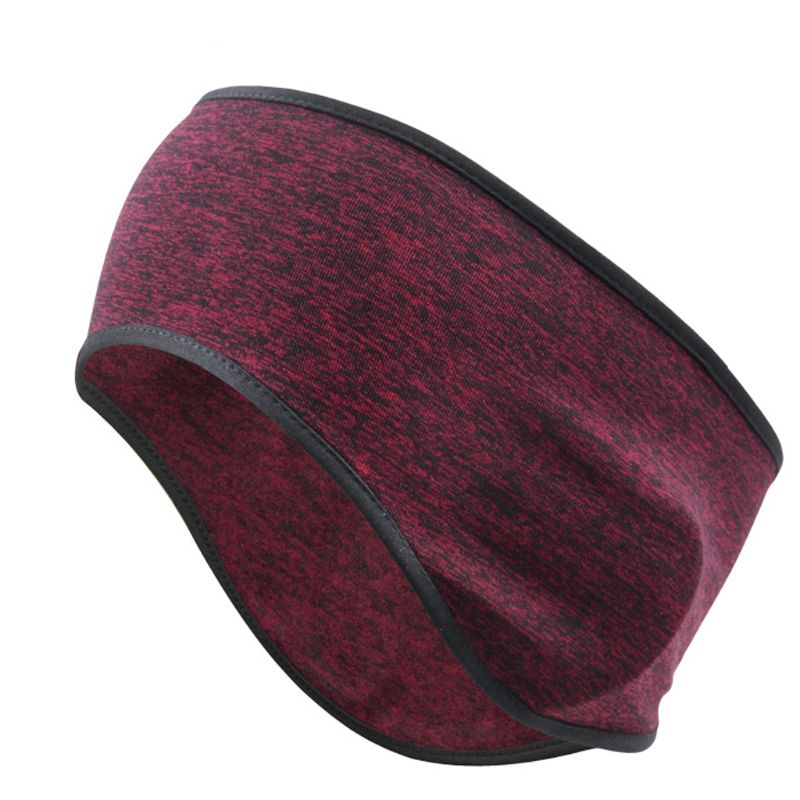 Unisex Winter Ear Warmer Headband Faux Fleece Cold Weather Earmuff Warm Hairband M6CD