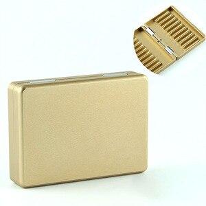 Image 4 - JINXINGCHENG Metal 20 Holes Cigarette Cartridge for Iqos Universal Case for Iqos 3.0 Flip Storage Cigarette Case for Iqos