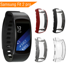 Smart Watch Case For Samsung fit 2 Pro Full Protection TPU Screen Protector for fit2