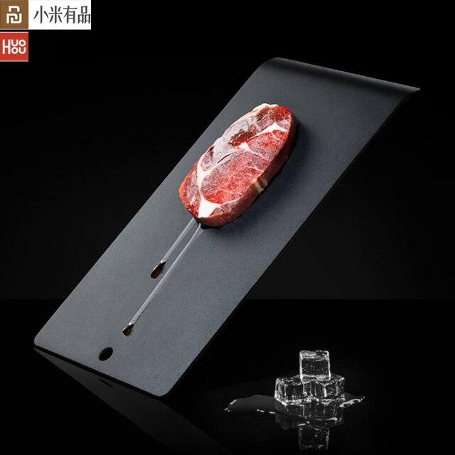 Youpin Huohou Placa de descongelación superconductora, acelerador de cocina vegetal duro, tecnología negra, descongelación Natural