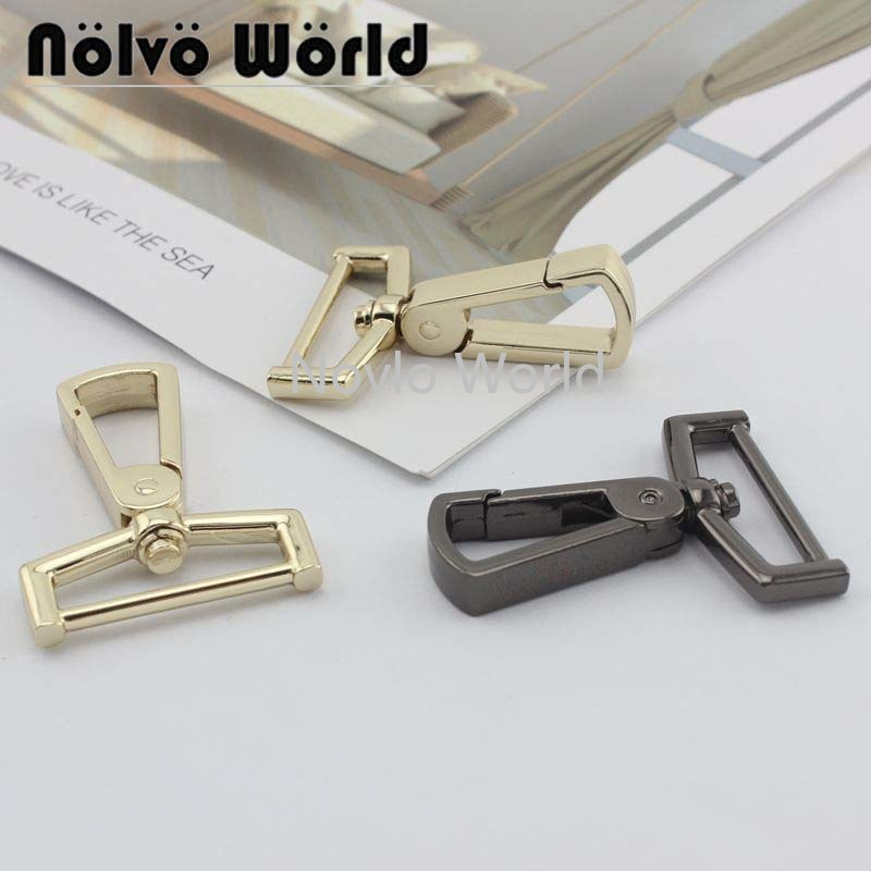 4 Pieces, 50*30mm Small Quantity Metal Bag Buckle Dog Collar Buckle Chain Clasp Lobster Swivel Snap Hook Buckle Accessories