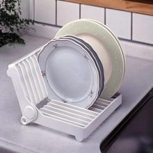 Кухонная Складная тарелка сушилка стеллаж для хранения тарелок сушилка для посуды шкаф-органайзер для кухни стиральная кухонная раковина, блюдо рамка