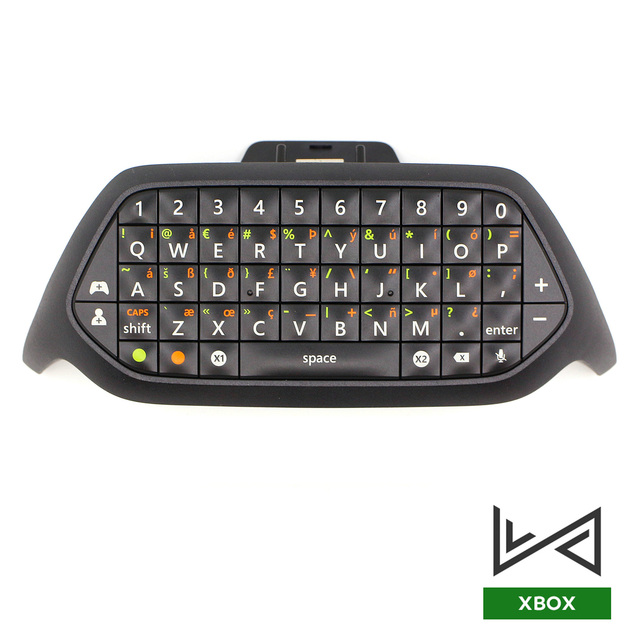Chatpad ل XBOX ONE وحدة تحكم لاسلكية لعبة لوحة المفاتيح ل Xbox one رسالة صغيرة لوحة المفاتيح