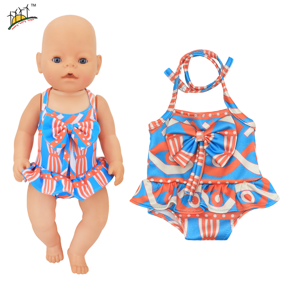 Clothes Swimwear Swimsuit for 18inch Generation Doll Summer Wonderful Cute