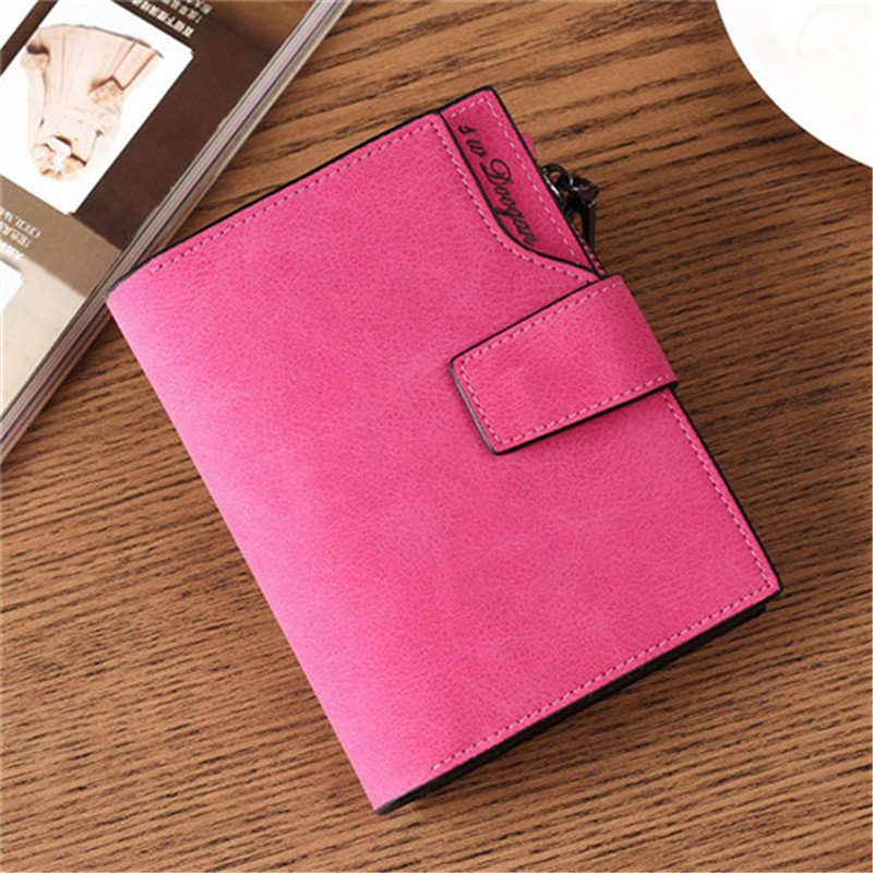 NO.ONEPAUL Leather Women Wallet Hasp Small Luxury Brand Wallets Purses And Slim Coin Pocket Purse Women Wallets Cards Holders
