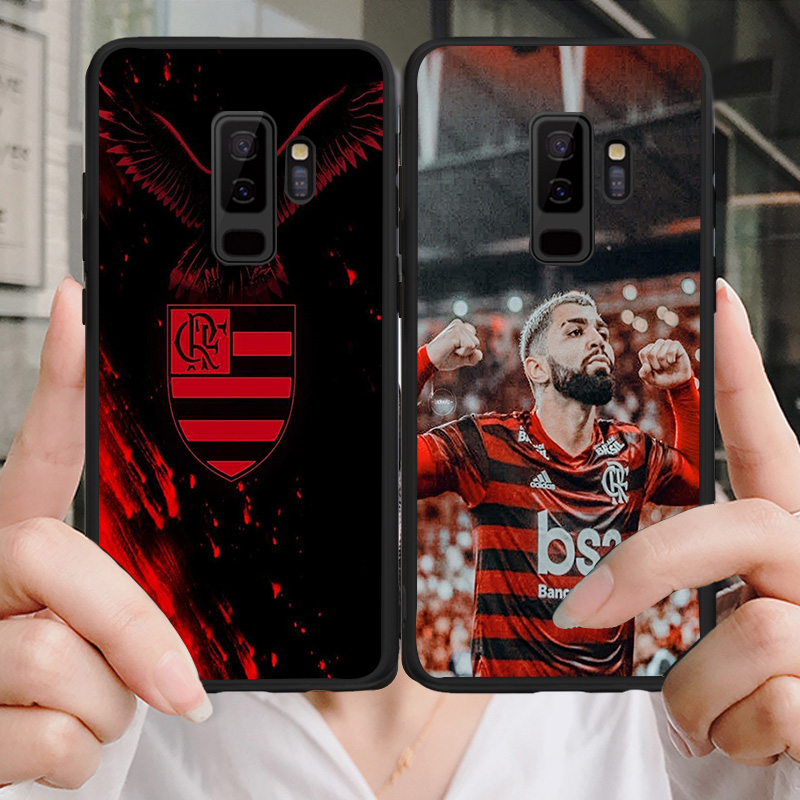 Flamengo RJ FC Phone Case For Samsung Galaxy S6 S7 Edge S8 S9 Plus A3 A7 A5 A8 A9 C5 J5 J7 S5 DIY Case Soft TPU Gabriel Barbosa