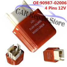 Headlight-Relay Toyota Landcruiser for 75/80/60-series/.. 4-Pins 12V Car Suitable