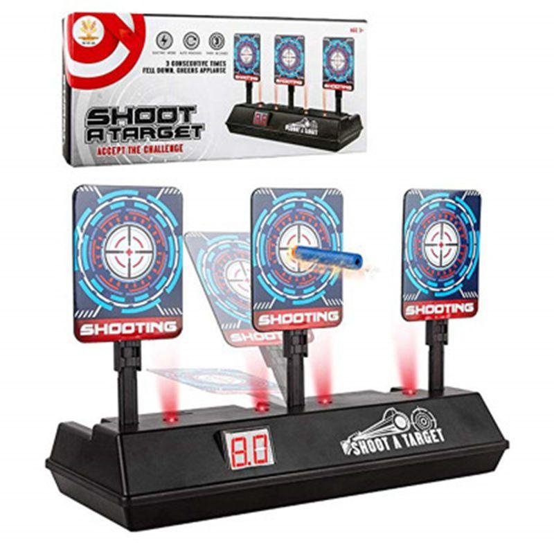 Target For Nerf Gun Toy Electric Shooting Score Target Nerf Gun Target Accessories Shooting Game High Precision Scoring Auto