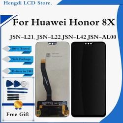 LCD pour Huawei Honor 8X LCD écran tactile numériseur assemblée pour Huawei Honor8X JSN-L21 JSN-L42 JSN-AL00 LCD JSN-L22