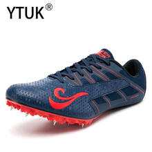 YTUK Track and Field Men Women Shoes Breathable Running Sprint Shoes Lightweight Soft Comfortable Professional Athletic Shoes