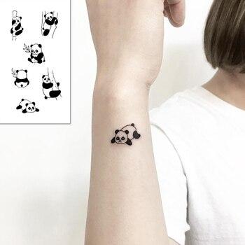 Tattoo Sticker Body Art Black White Drawing Little Element planet sun moon star Water Transfer Temporary Fake tatto flash tatoo 1