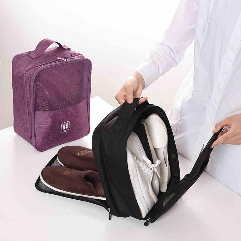 BUCHNIK Portable Dustproof Shoes Bag Waterproof Travel Sock Sneaker Sorting Organizers Slippers Sandals Pouch Accessories Item