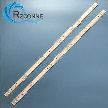 Светодиодная лента для подсветки, 580 мм, 6 ламп для ТВ, для ТВ, для E348124, для L2202, L1074, 32LES78T2W, светодиодный