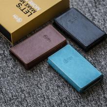 Skórzany pokrowiec do HiBy R5 wysokiej rozdzielczości Audio przenośny odtwarzacz hi-res odtwarzacz muzyczny Bluetooth odtwarzacz MP3 odtwarzacz muzyczny HiFi tanie tanio = 2 9-cal Black Blue Brown
