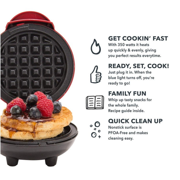 Electric Bubble Egg Waffle Maker In Microcomputer Type With Tube Heating To Make Breakfast 5