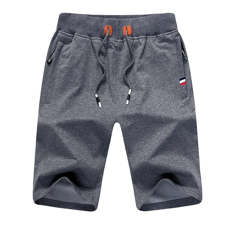 New Men's Shorts Casual Elastic Pants Summer Sports Loose Cotton Waist Beach Pants
