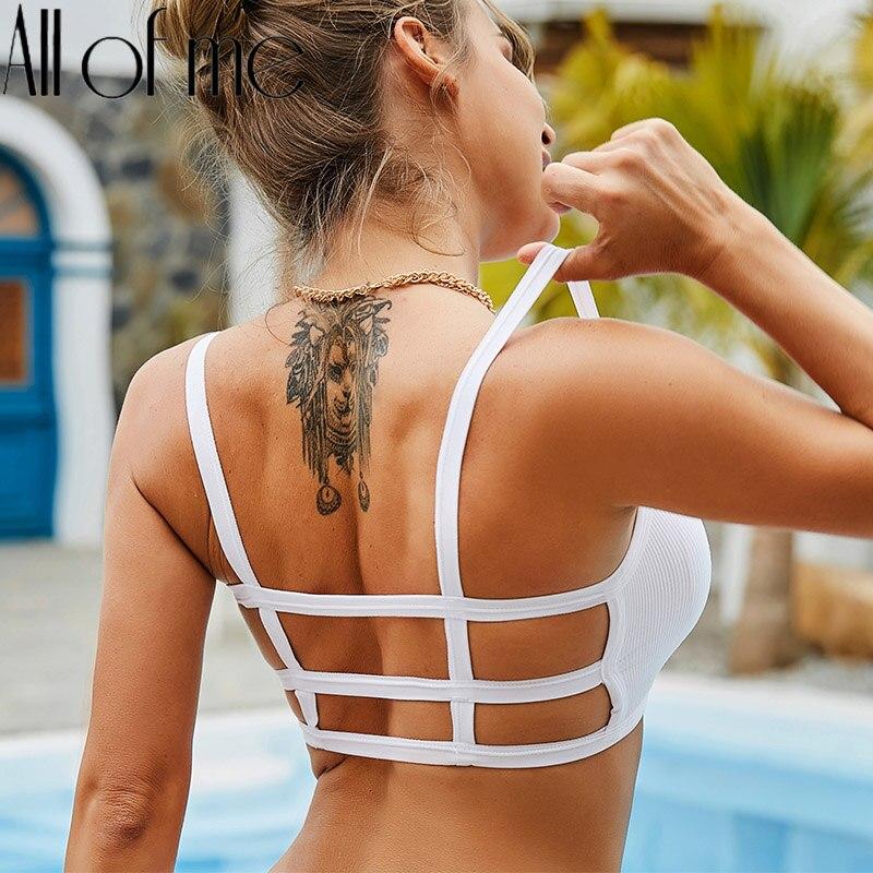 Backless Frauen Bh Tank Tops Sexy Unterwäsche Weibliche Dessous Bralette Push Up Büstenhalter Nachricht Padded Crop Tops Bhs