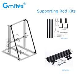 GmFive Upgrade 3D Printer Parts zestaw prętów podtrzymujących zestaw 300MM 500MM drążek sterowniczy do Creality 3D CR 10 CR 10S CR 10 S5 drukarka oś Z w Części i akcesoria do drukarek 3D od Komputer i biuro na
