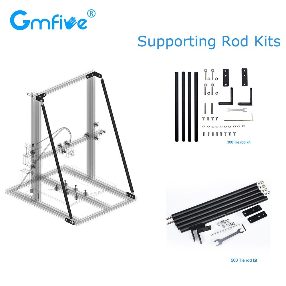 gmfive atualizar pecas da impressora 3d apoiar kit vara conjunto 300 milimetros 500 milimetros vara