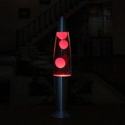 Lampa lava 13 cal metalowe dno la deng wulkan lampa lava kreatywne dekoracyjne światła shui mu deng producenci sprzedaży bezpośredniej Oświetlenie profesjonalne    -