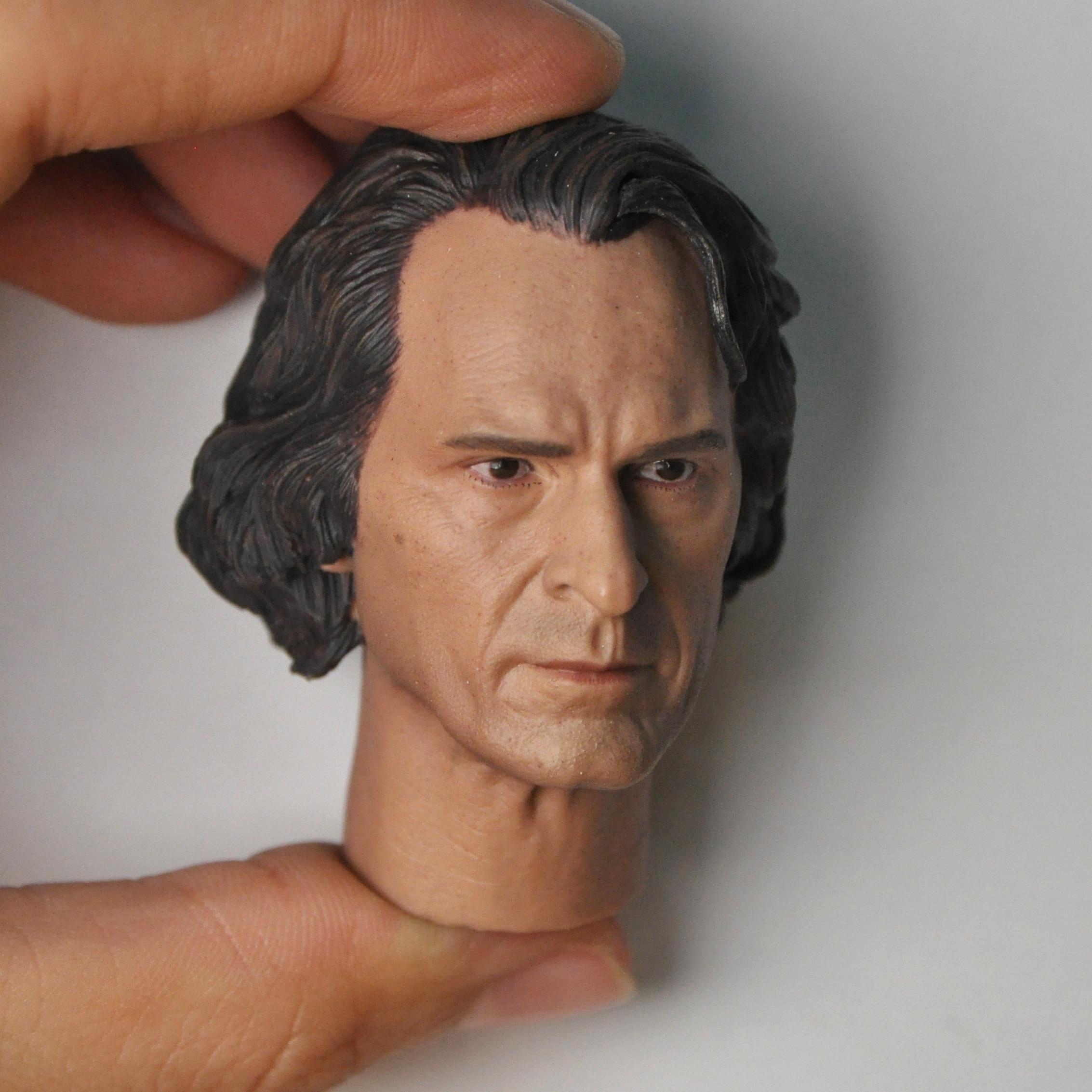 Hot 1//6 Joaquin Phoenix Head Sculpt Joker fit 12/'/' Figure Male Body