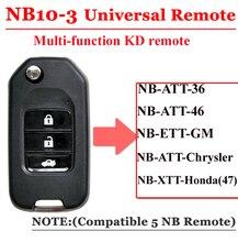 Gratis Verzending (1 Stuk) NB10 Universal Multi Functionele Kd Afstandsbediening 3 Knop Nb Serie Sleutel Voor KD900 URG200 Remote Master